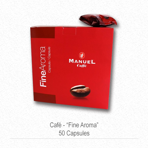 "Manuel Café ""Fine Aroma"" 50 Capsules"