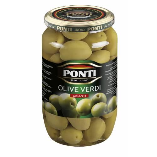 "Olives vertes géantes "" Ponti """