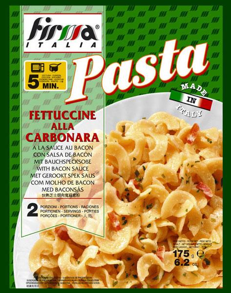 "Fettuccine Carbonara "" Firma """