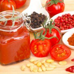 Sauces et conserve de tomates