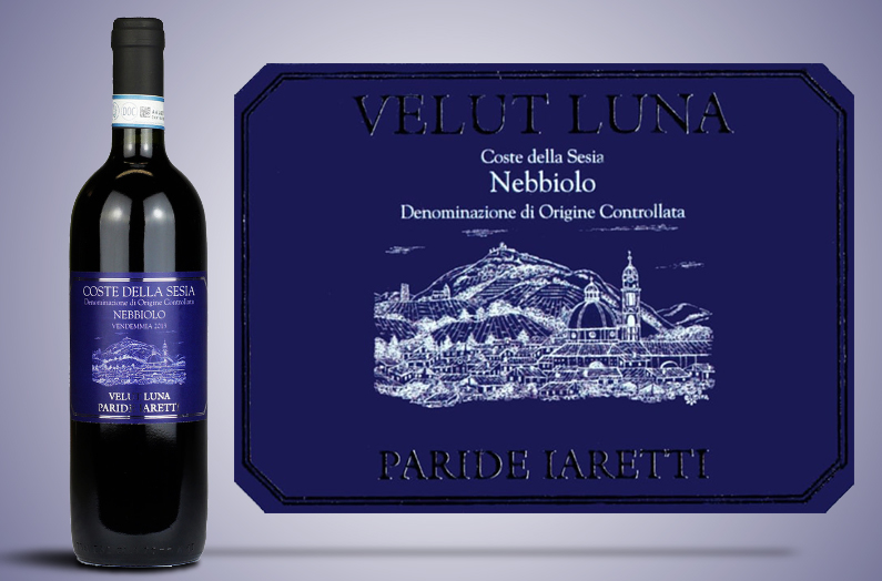 Le vin rouge VELUT LUNA – Paride Iaretti