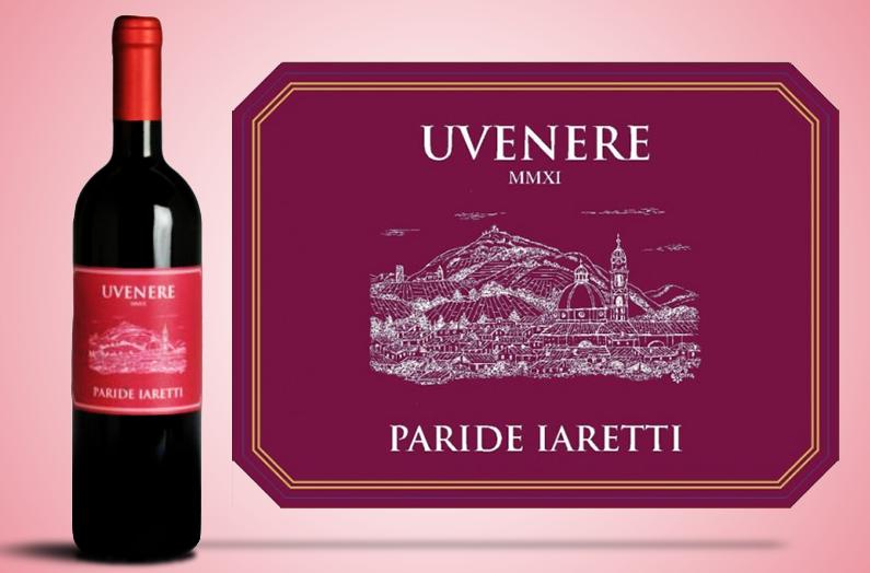 Le vin rouge UVERENE Rosso – Paride Iaretti