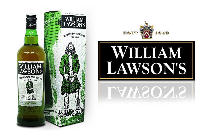 Le Blended Scotch Whisky William Lawson